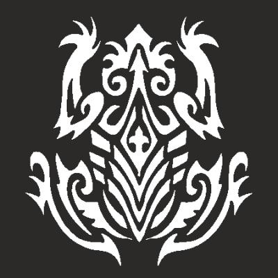 Символ лягушка