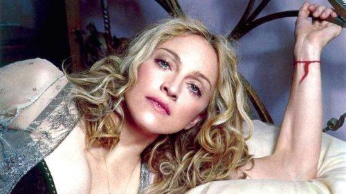 Мадонна и красная нить