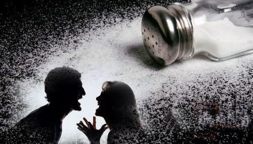 Ритуал рассорки на соль