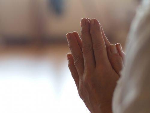 Молитва от боли в колени