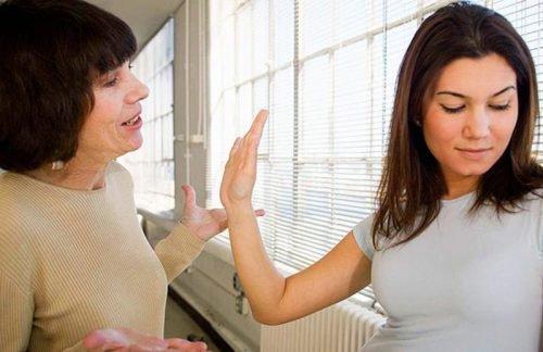Ссора невестки и свекрови