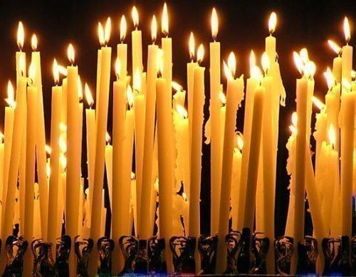 Церковные свечи для обрядов
