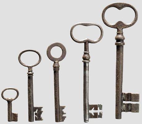 Заговор на ключи