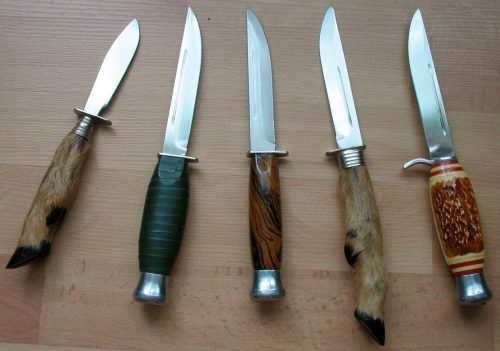 Защита старинными ножами