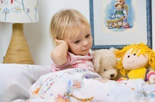 Ушная боль у ребенка