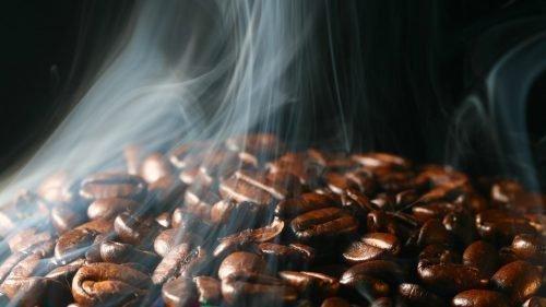 Подкова из кофейных зерен своими руками