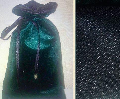 Мешочек зеленого цвета для талисмана