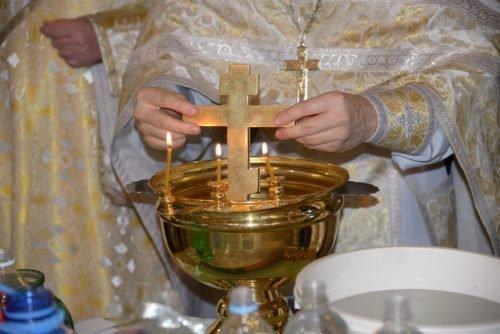 Святая вода из церкви