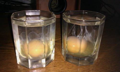 Яйца для определения сглаза