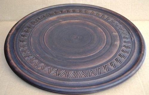 Глиняная тарелка для ритуала Вуду