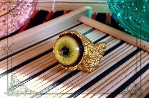 Кольцо глаз волка