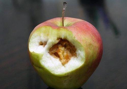 Гниет яблоко после заговора
