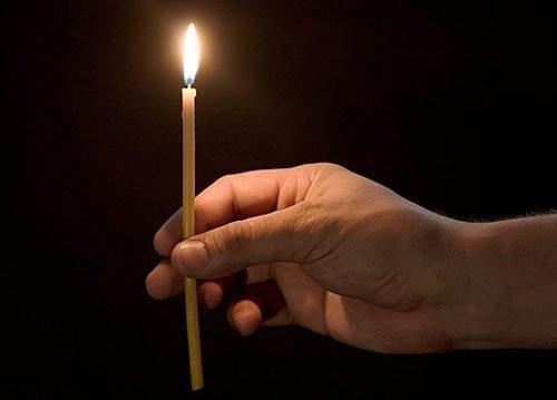 Очищающий обряд со свечами