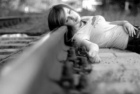 Одиночество девушки