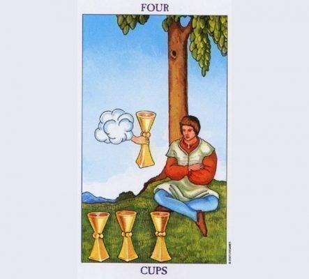 4 кубков таро: значение в отношениях, особенности колоды, толкование