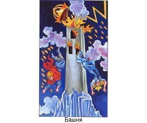 Значение Башни в Таро