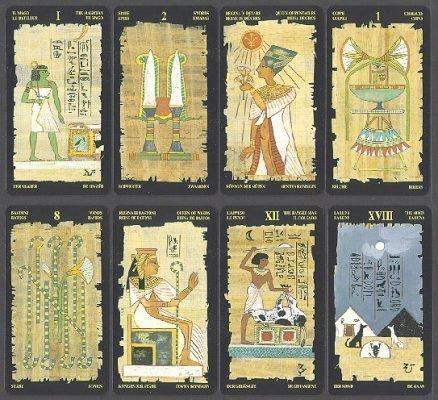 Карты Египетского Таро