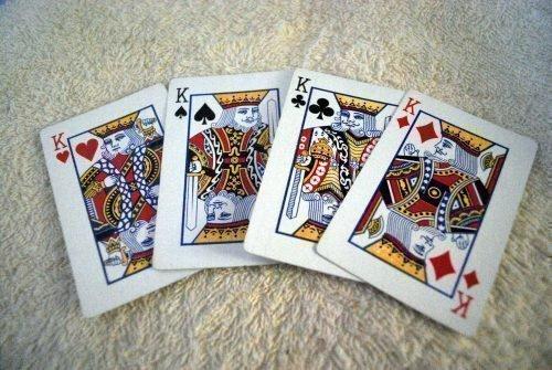 4 короля из колоды