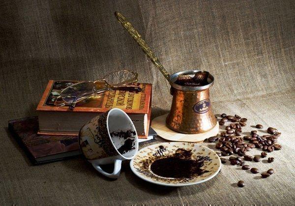Фото гадания на кофе