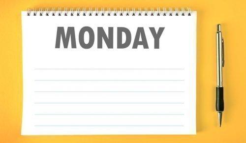 Понедельник на календаре