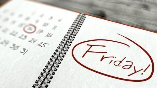 Пятница на календаре