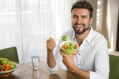 Здоровый мужчина