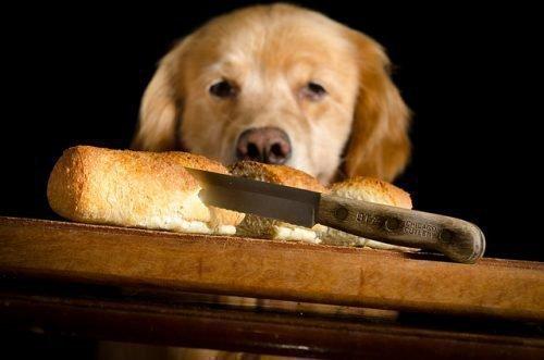Нож в хлебе