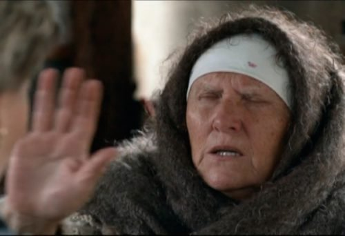 Слепая ясновидящая баба Нина