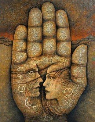 знаки экстрасенса на руке значение