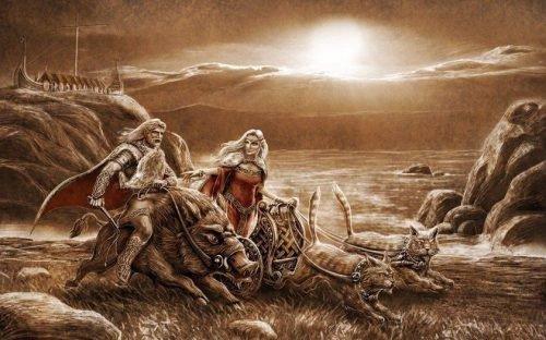 скандинавская мифология боги и существа