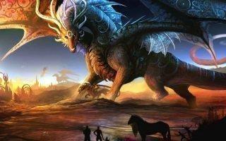Существование разных видов драконов