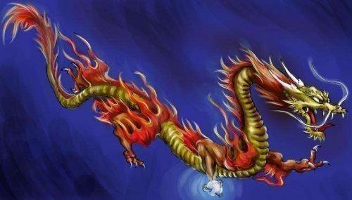 Восточные виды драконов