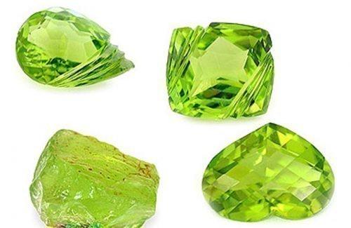 Камни хризолит