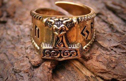 Перстень Молот Тора