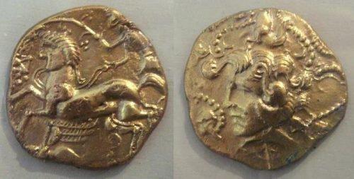 Золотоордынская монета для амулета