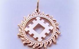 Репейник - славянский символ Благополучия и Счастья