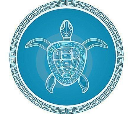 Талисман с изображением черепахи