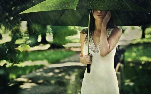 Любовный заговор на дождь