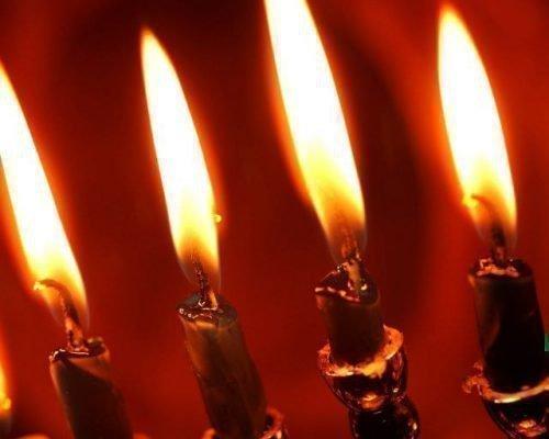 Порча на свечу