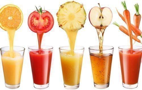Сок в стакане