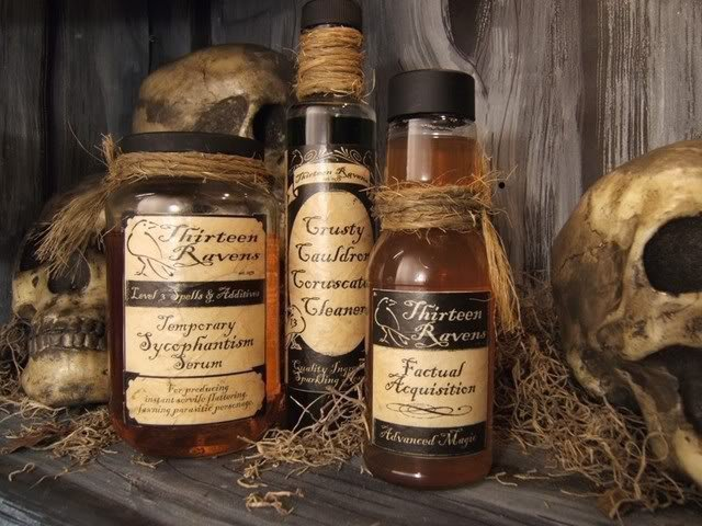 Ведьмины бутылки на все случаи