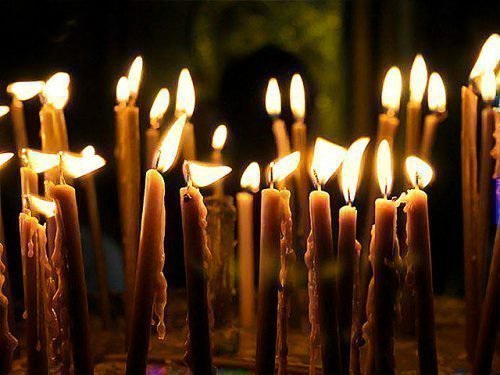Церковная свеча для приворота