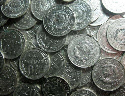 Серебряная монета для ритуала Вуду