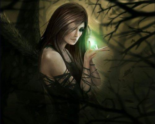 Ведьма и магия