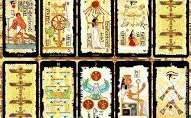 Особенности колоды Египетского Таро