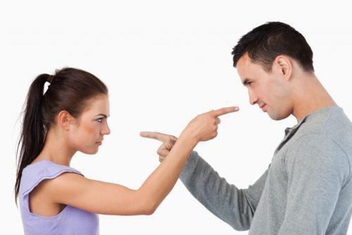 Конфликт влюбленной пары