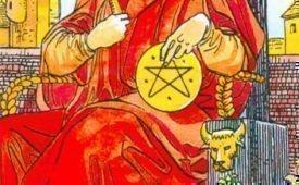 Король Пентаклей, характеристика и описание карты
