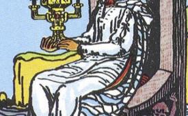 Королева Кубков в Таро - значение и характеристика карты