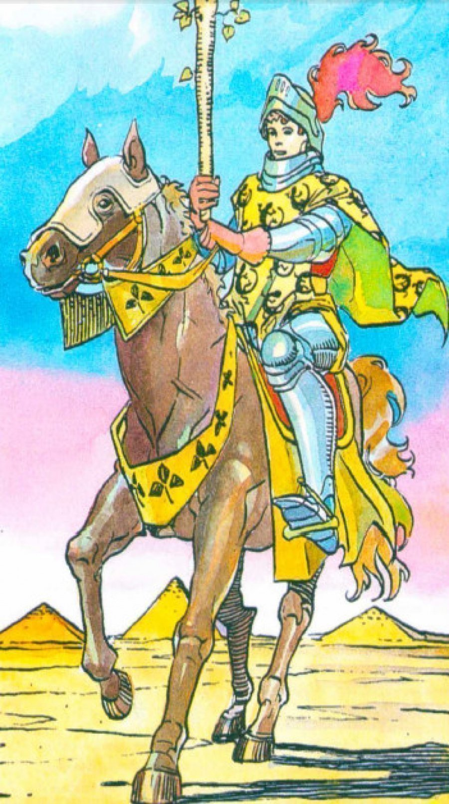 Таро Рыцарь жезлов: значение в отношениях, сочетание, карта дня Всадник