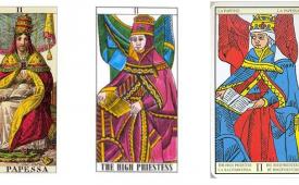 Толкование и значение карты Таро Верховная Жрица (Папесса)